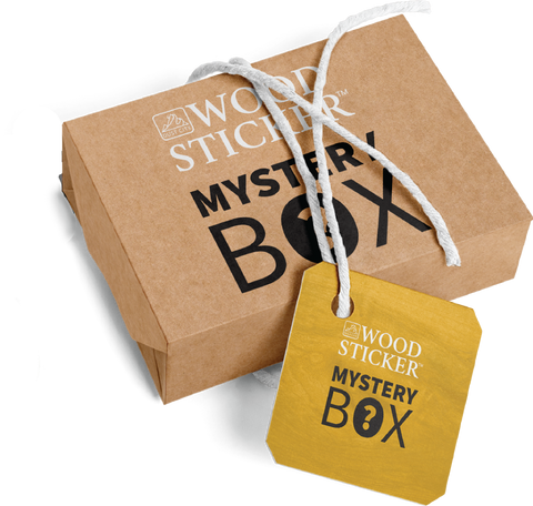 Wood Sticker Mystery Box