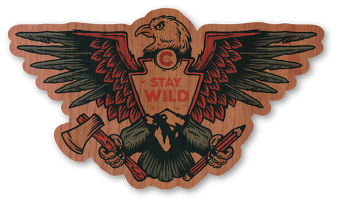 Stay Wild Eagle