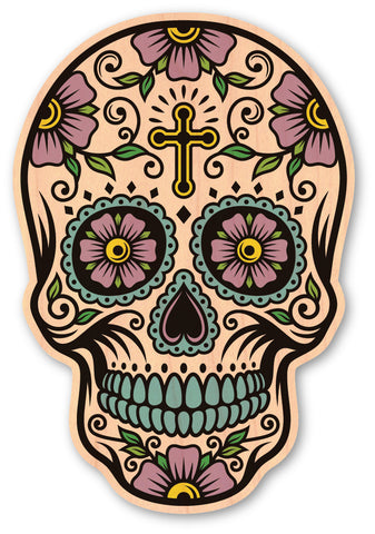 Cross Sugar Skull