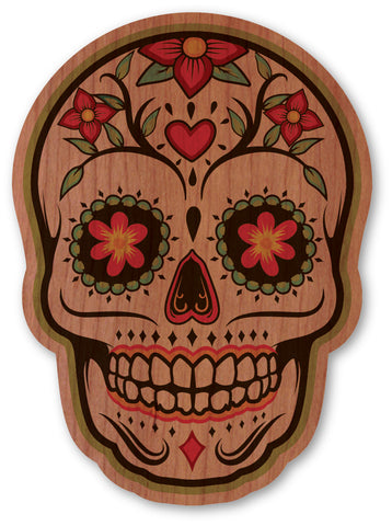 Shining Heart Sugar Skull