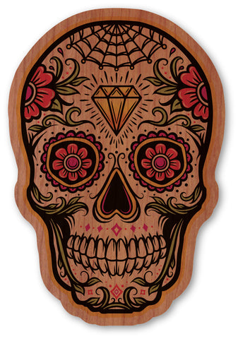 Diamond Web Sugar Skull