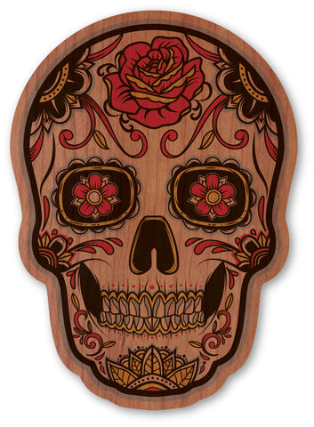 Red Rose Sugar Skull