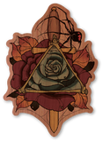 Color Dagger Rose