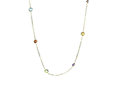 Multi Gem Necklace