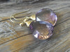 27 Carat Ametrine Earrings in 14k Gold