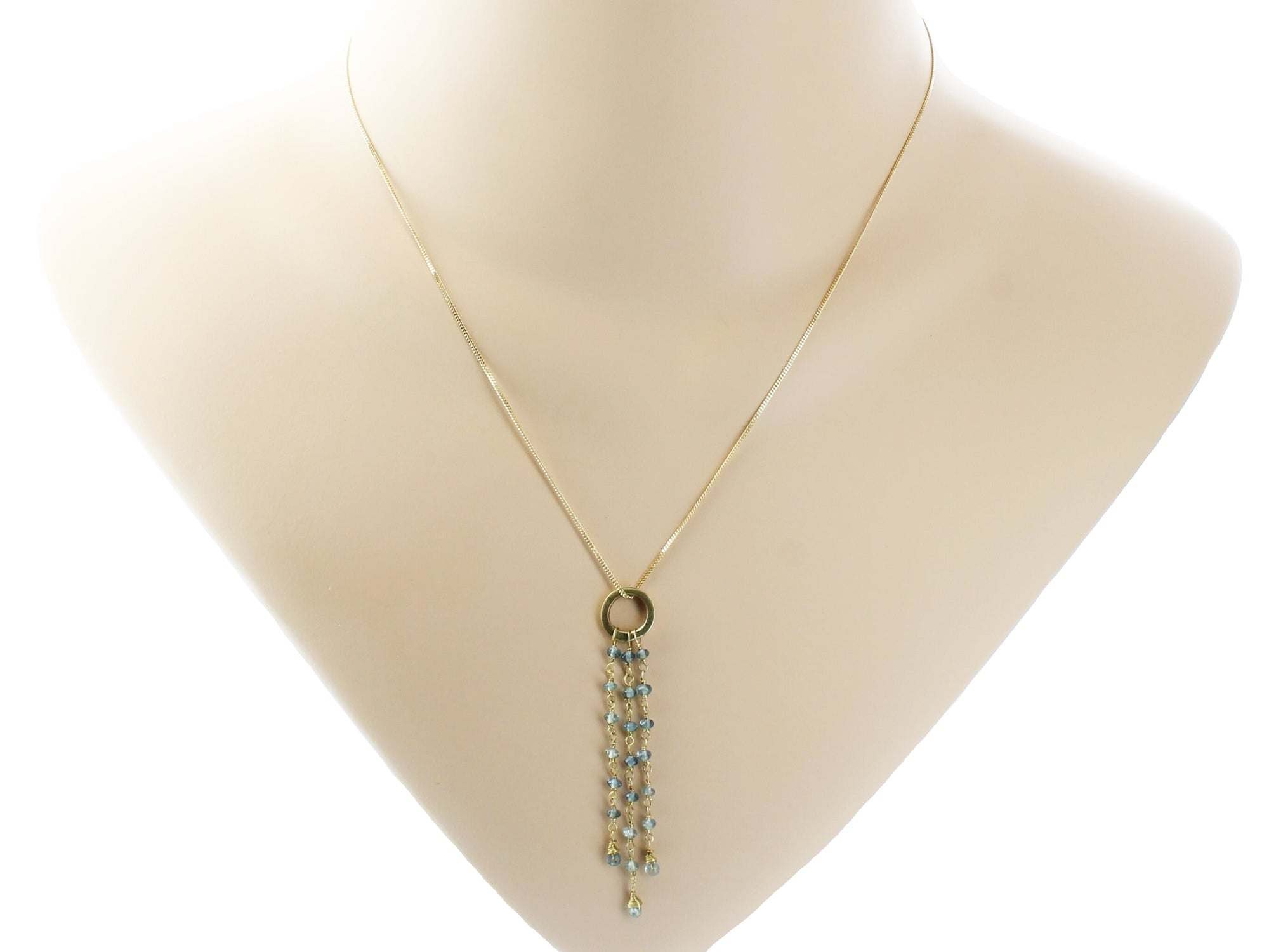 online eco necklace pendant jewels aquamarine christie christies s
