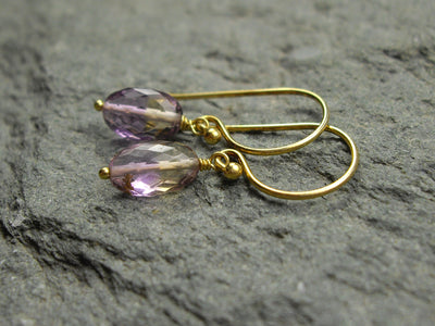 2.98 Carat Ametrine Earrings
