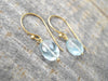 Aquamarine Earrings in Gold Vermeil