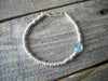 Ripples Collection Bracelet in Aquamarine