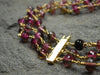 Bi Color Tourmaline Bracelet in 18k Gold