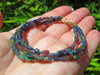 Three Strand Black Opal Bracelet