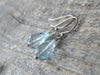 11.85 Carat Blue Topaz Earrings