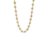Long Champagne Pearl Necklace