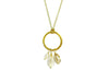 Cluster Necklace in Citrine