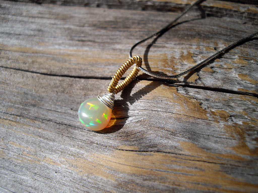 warehouse products sunshine s white fire necklace pendant luna opal