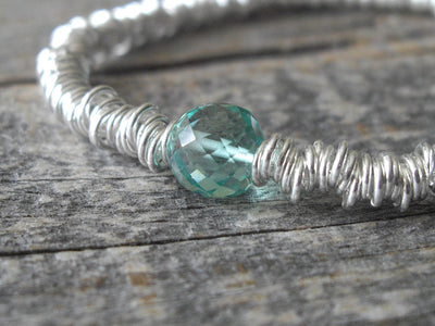 Ripples Collection Bracelet in Emerald