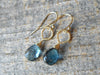 8.17 Carat London Blue Topaz Earrings