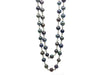 Long Black Freshwater Pearl Necklace