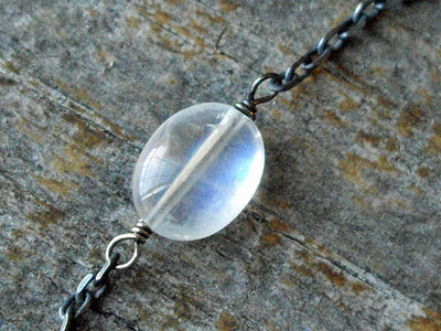 Layering Necklace in Moonstone