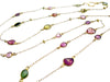 Long Tourmaline Necklace