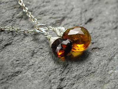 Charm Pendant in Citrine