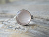 Large Rose Quartz Ring
