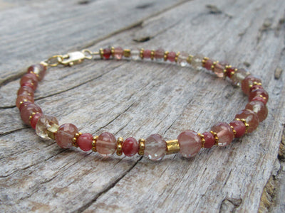 Oregon Sunstone Bracelet