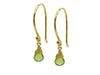Peridot Briolette Earrings