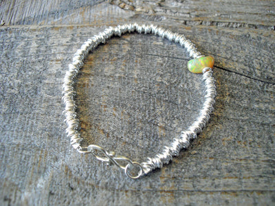Ripples Bracelet in Fire Opal
