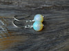 3.85 Carat Australian Opal Earrings
