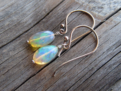 2.78 Carat Opal Earrings