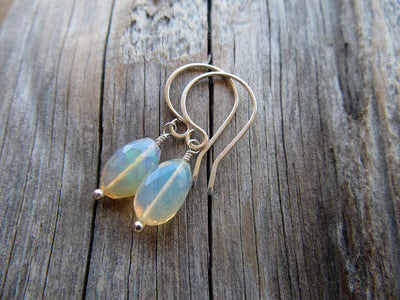 3.25 Carat Opal Earrings