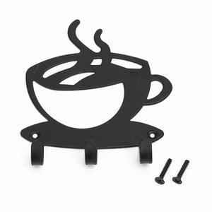 Coffee Time Wall Hook