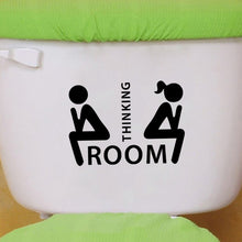Thinking Room Toilet Decal
