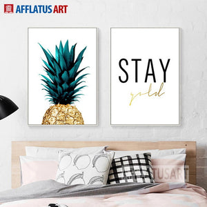 Stay Gold Canvas