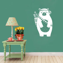 Tribal Bear Wall Decal