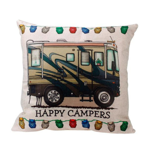 Van Life Pillow Case Cushion Cover