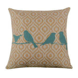 Birds On A Wire Pillow Case Cushion Cover