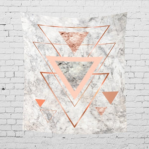 Nordic Geometric Wall Tapestry