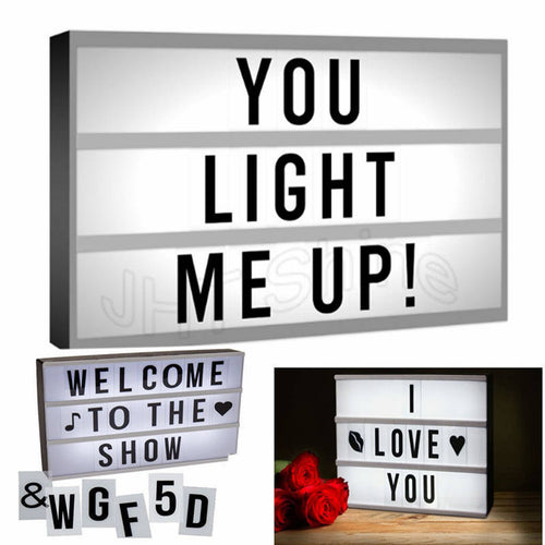 Express Yourself Light Box