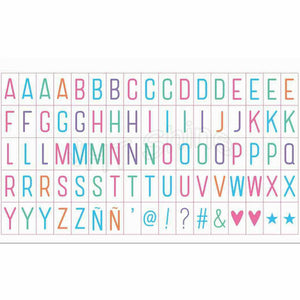 Express Yourself Light Box - Colorful Letters