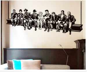 High-Rise Working Celebrity Wall Decal