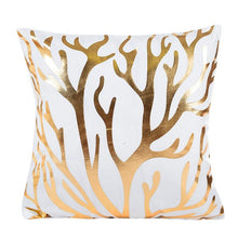Golden Love Pillow Case Cushion Cover