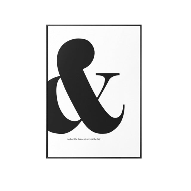 Ampersand Canvas