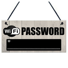 Wifi Password Chalkboard Wall Hanger