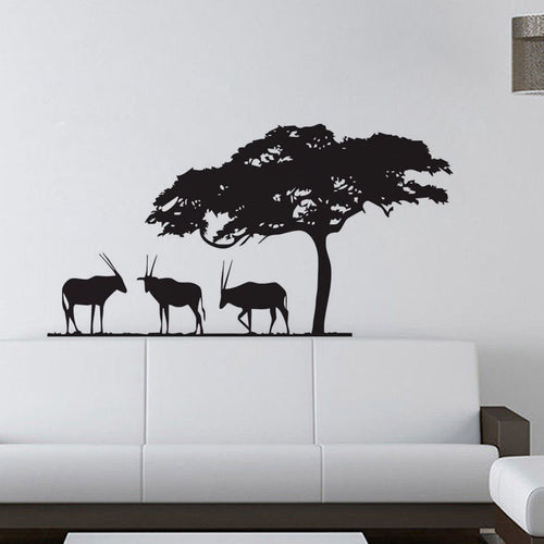 African Safari Wall Decal