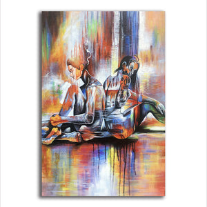 Beautiful Aura Modern Contemporary Wall Canvas