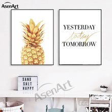 Pineapple Yesterday, Today, Tomorrow Wall Art