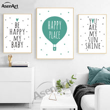 Happy Place Ballon Wall Art