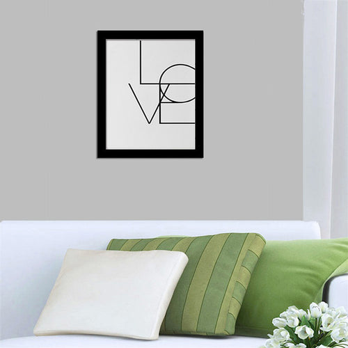 Skinny Love Wall Canvas